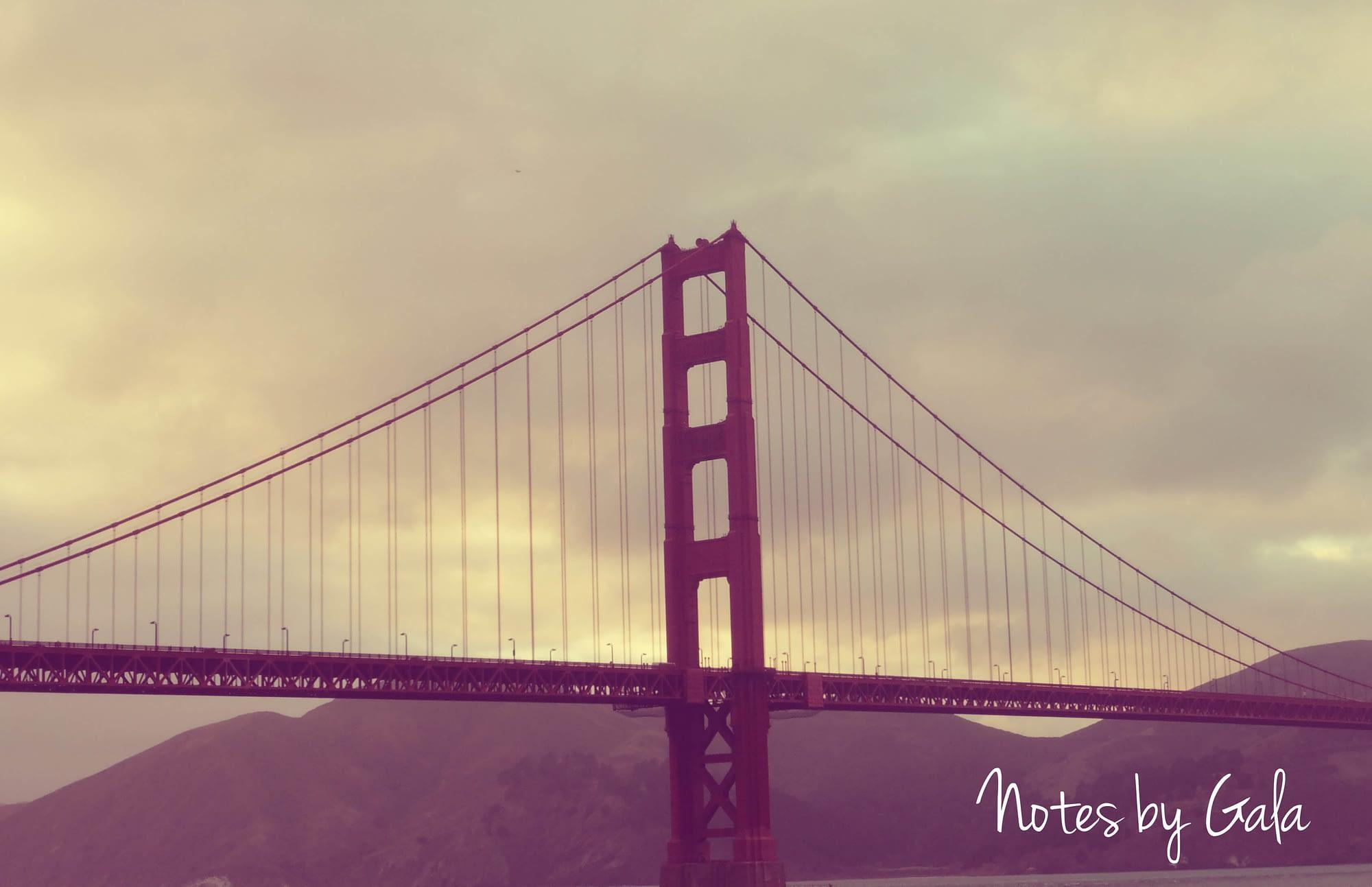 Puente San Francisco, ruta California
