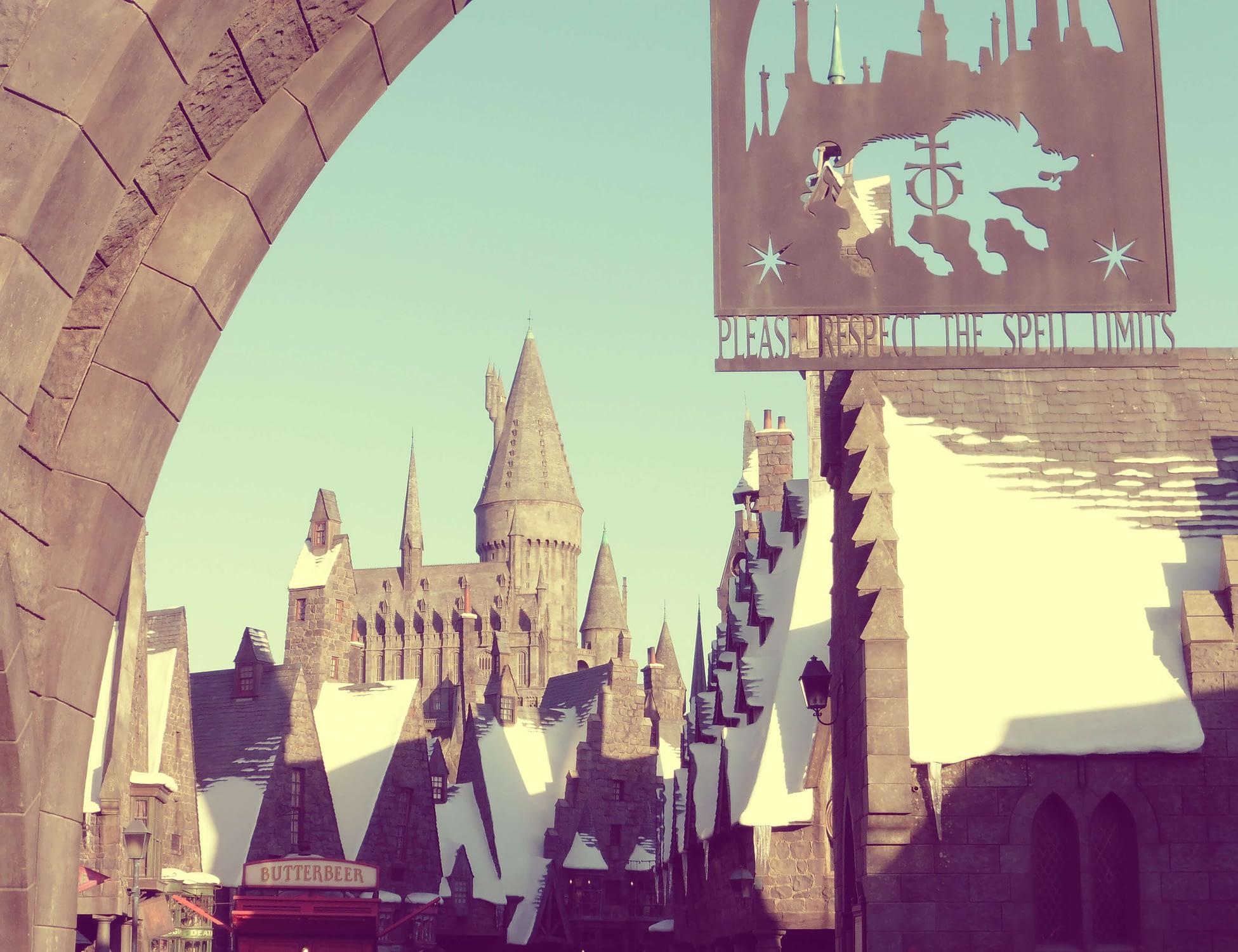 Ciudad Harry Potter Universal Studio LA