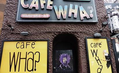 Cafe Wha Nueva York