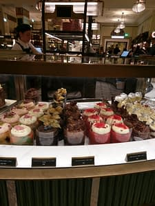 Cup cakes Harrods