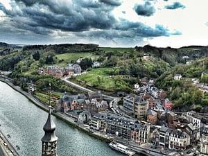dinant ciudadela belgica