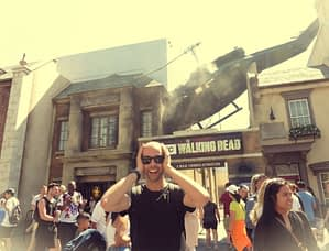 Walking Dead Universal Studio