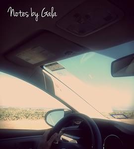 Conduciendo por California
