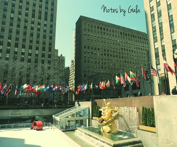 rockefeler plaza nueva york